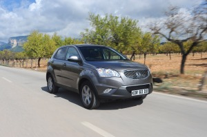 Korando on the international press launch in Mallorca