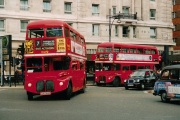 CUV 352C doing what it did best, Marble Arch late 90s